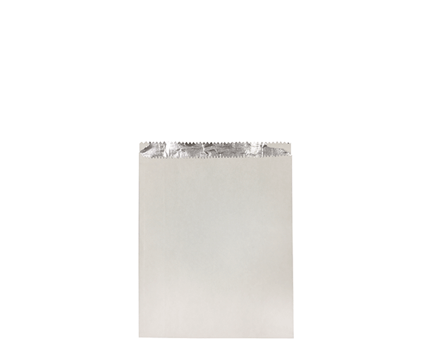 Foil Lined Paper Bag (Small White)