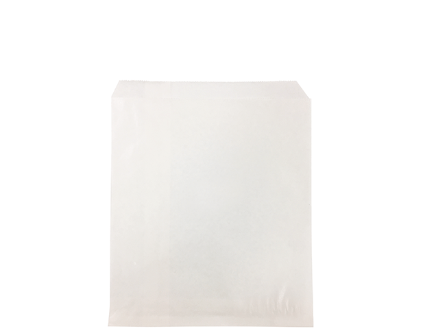 Flat Glassine Paper Bags (Size #1 Square)