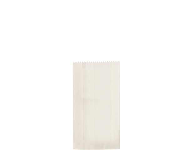 White Satchel Paper Bags (Size #1)