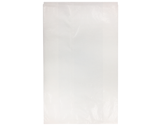 White Satchel Paper Bags (Large Millinery)