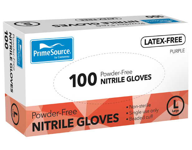 PrimeSource® Large Nitrile Gloves