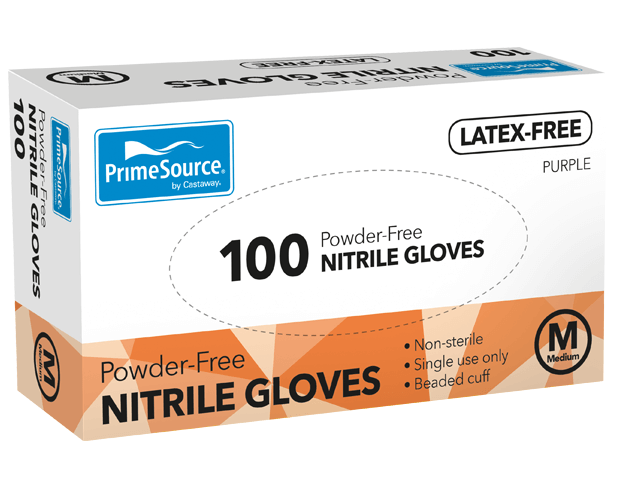 PrimeSource® Medium Nitrile Gloves