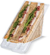 Clearview® Sandwich Wedges